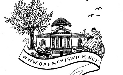 The Open Chiswick logo